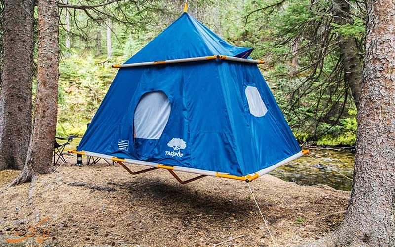 چادر های سفری معلق