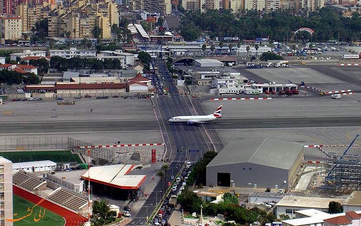فرودگاه جبل الطارق