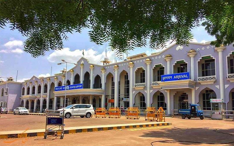 فرودگاه جودپور هند-ساختمان فرودگاه