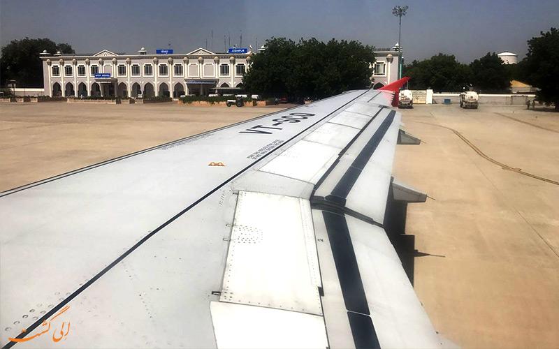 فرودگاه جودپور هند-باند فرودگاه