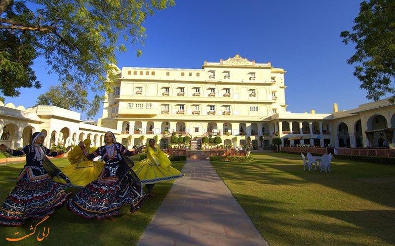 فرودگاه دهلی به جیپور-هتل