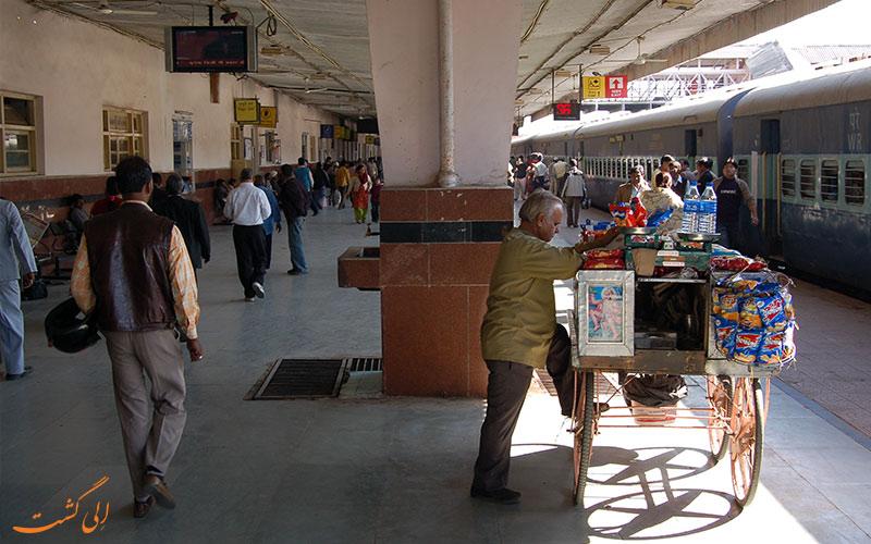 فرودگاه دهلی به جیپور-ایستگاه قطار جیپور