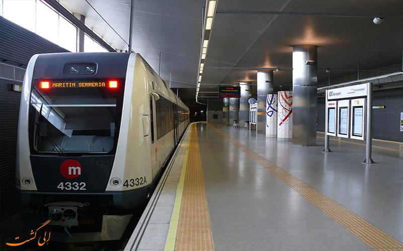 مترو فرودگاه والنسیا اسپانیا