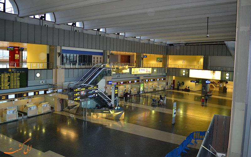 فرودگاه والنسیا اسپانیا-داخل فرودگاه