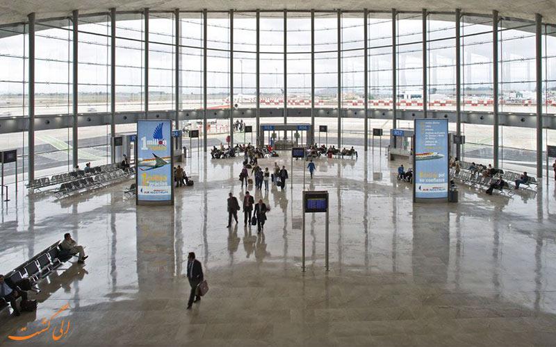 ترمینال های فرودگاه والنسیا اسپانیا