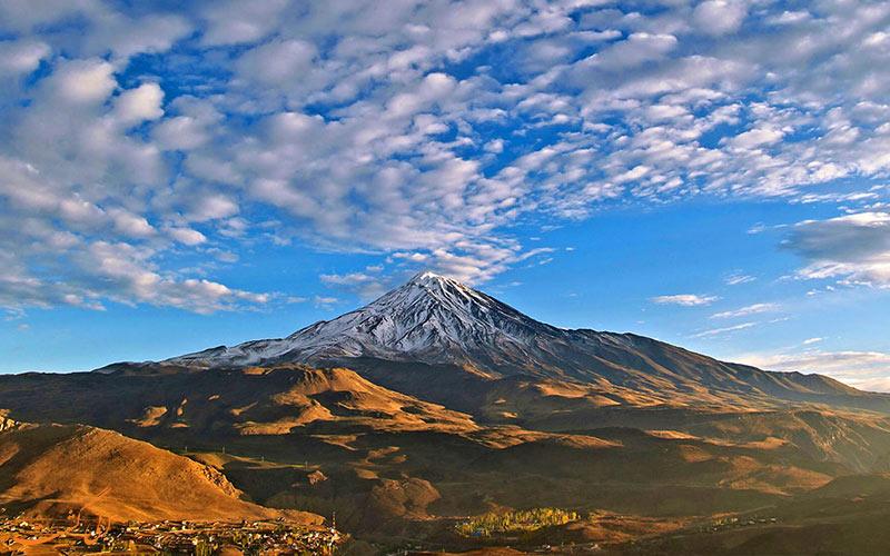 قله های ایران-دماوند
