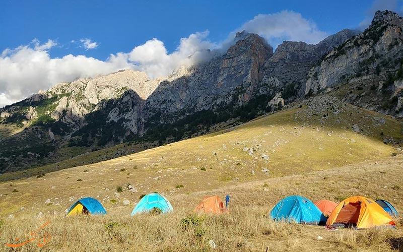 قله های ایران
