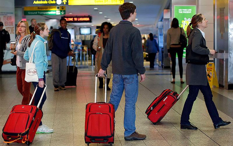 بازرسی چمدان