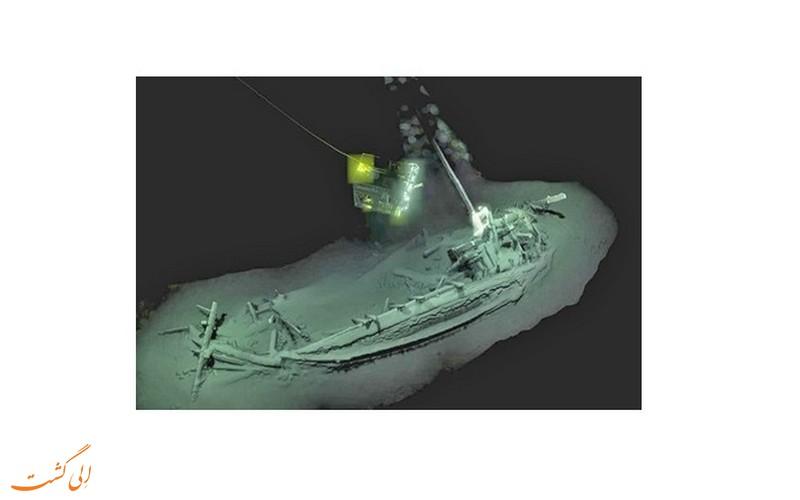 کشف قدیمی ترین کشتی