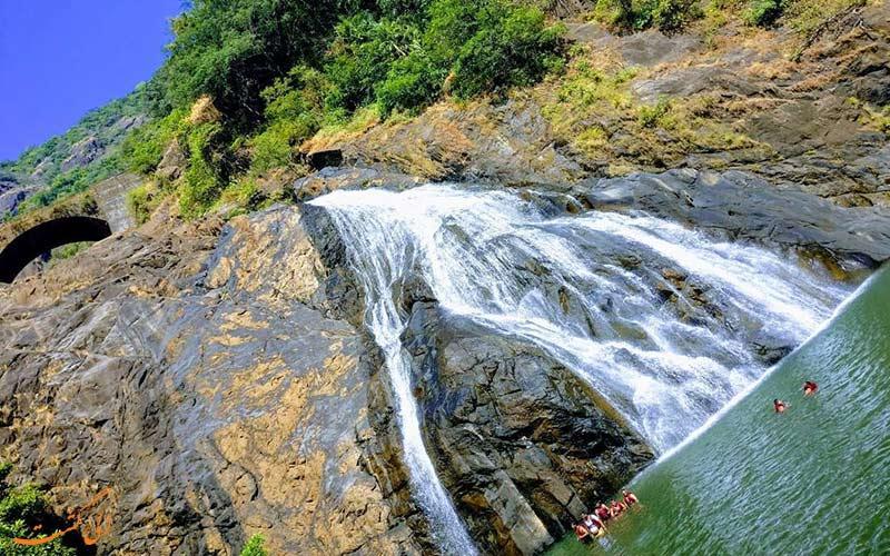 بلندترین آبشار هند در گوا