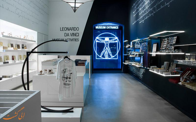 موزه لئوناردو داوینچی فلورانس- کتابچه تحقیقات