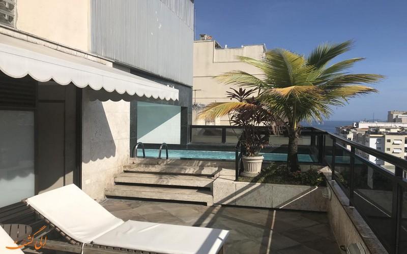 هتل ریل پالاس در ریو