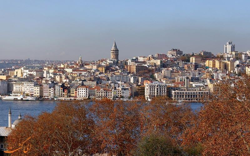 پاییز ترکیه در استانبول
