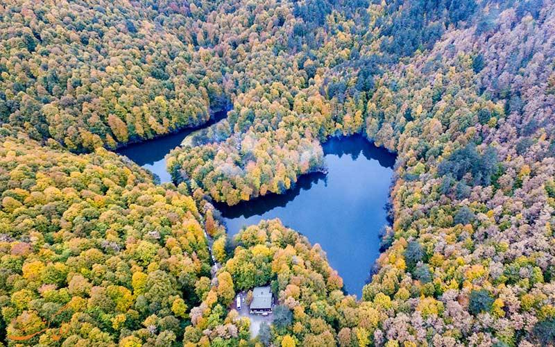 پاییز در پارک ملی ترکیه
