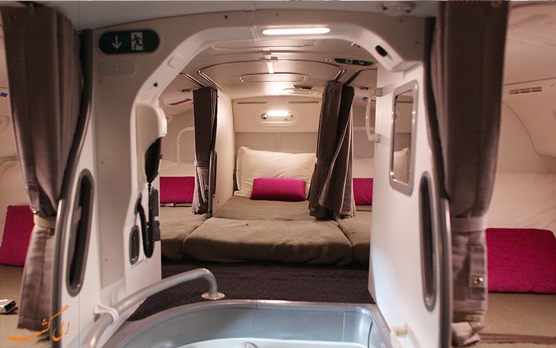کابین خواب- مهماندار هواپیما
