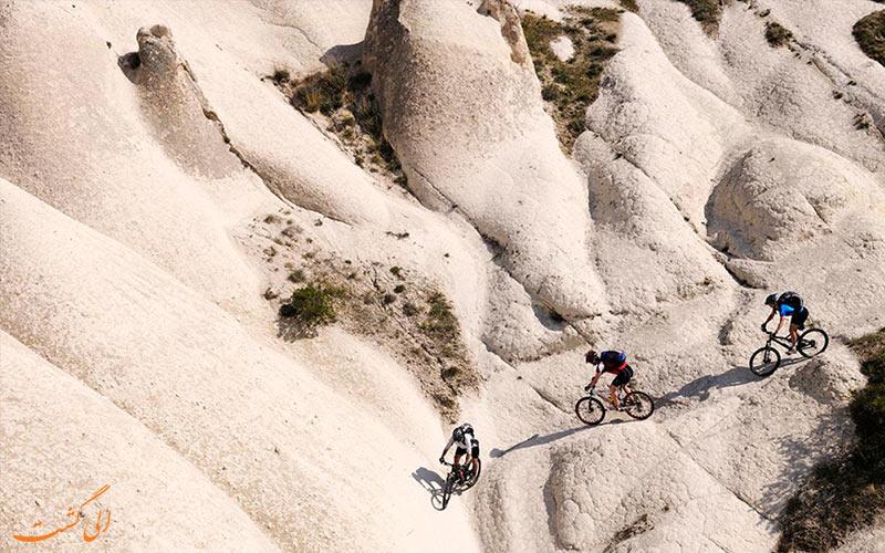 کاپادوسیا ترکیه-تور دوچرخه سواری