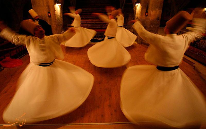 کاپادوسیا ترکیه-رقص سما