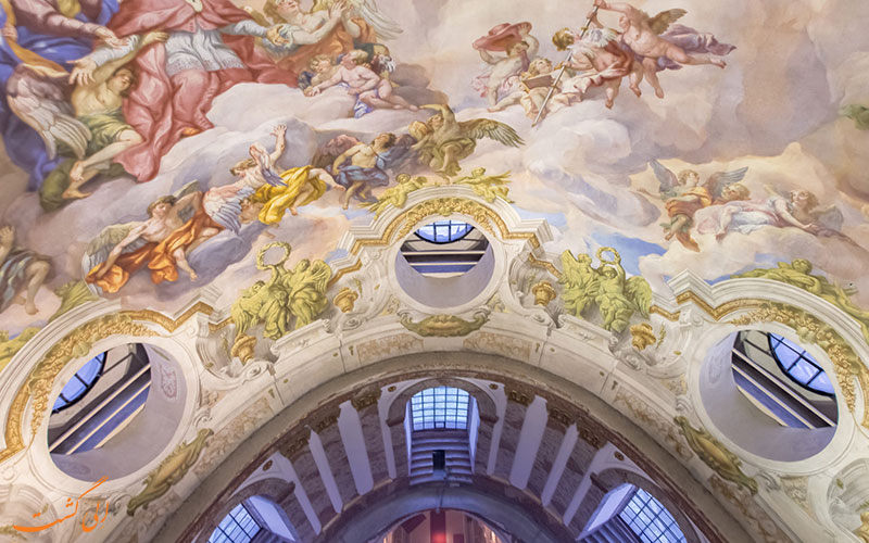 نقاشی های سقف