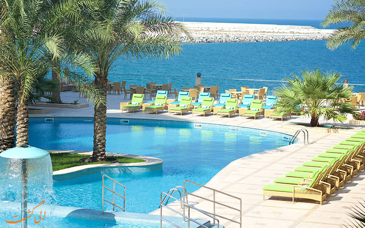 امکانات تفریحی هتل مرجان آیلند