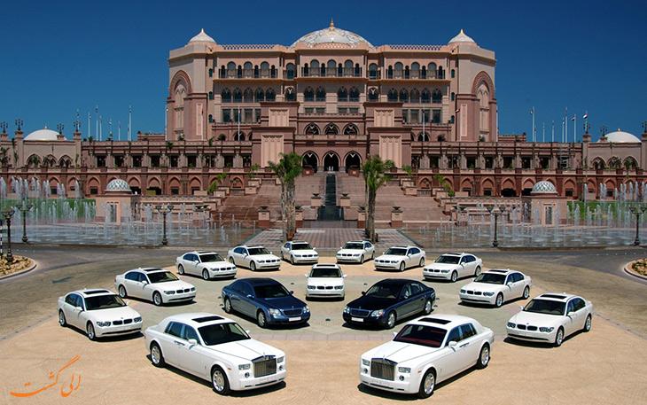 ویژگی های لوکس کاخ امارات
