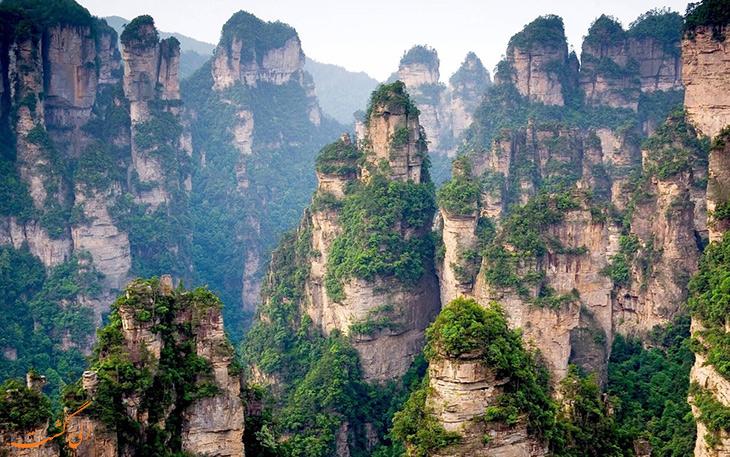 کوه های تیانژی