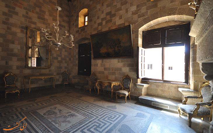 فضای داخلی کاخ استاد بزرگ