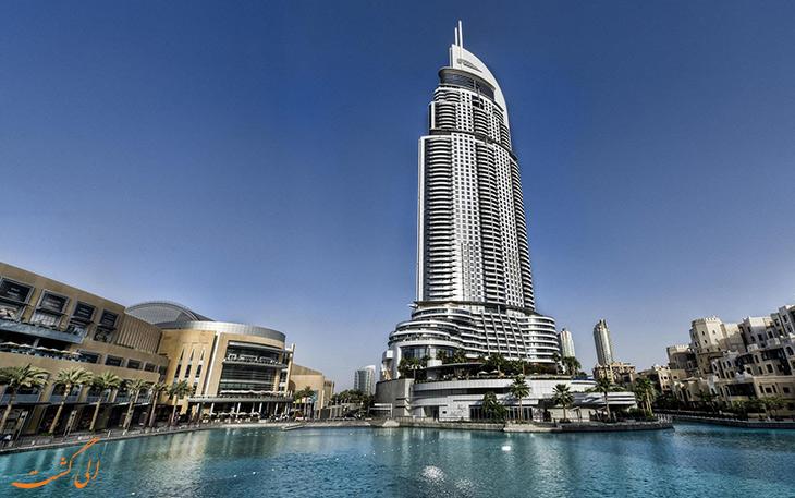 هتل آدرس داون تاون دبی