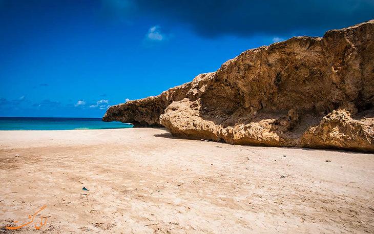 ساحل آندیکوری در آروبا