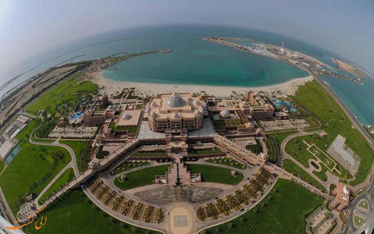 ویژگی های معماری کاخ امارات