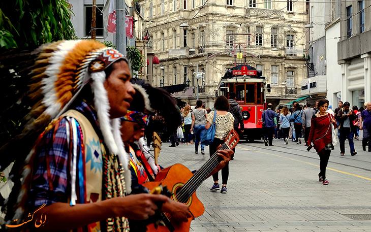 موسیقی های خیابانی