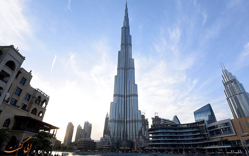برج خلیفه ی دبی، امارات متحده ی عربی