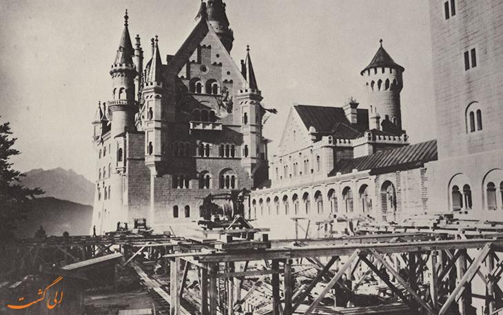 ساخت قلعه نیوشوان اشتین