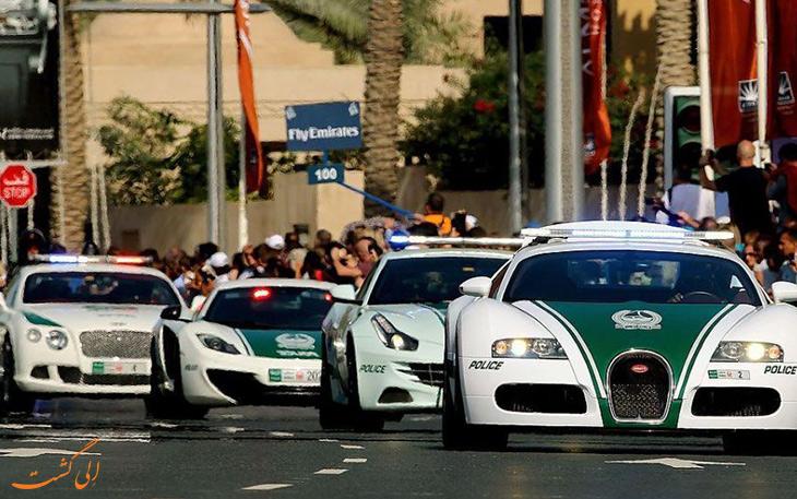 ماشین پلیس های دبی