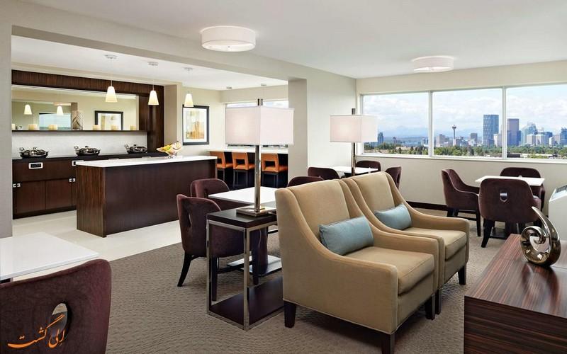 هتل 4 ستاره شرایتون کاوالیر