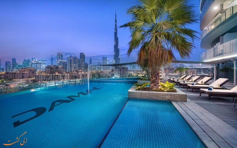 هتل 5 ستاره داماک مایسون رویال دبی
