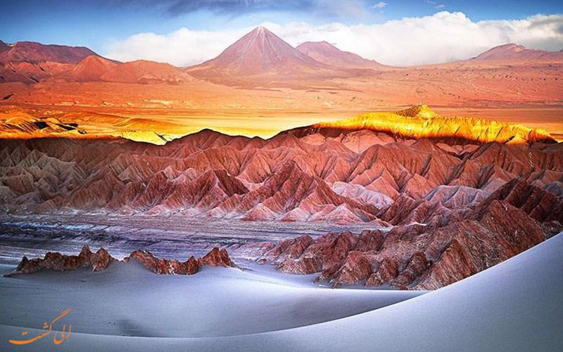 صحرای آتاکاما در شیلی