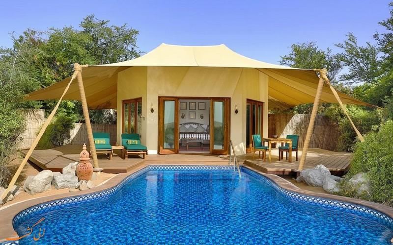 هتل 5 ستاره المها دیزرت ریزورت در دبی