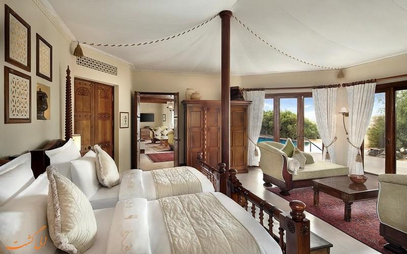 هتل 5 ستاره المها دیزرت ریزورت دبی