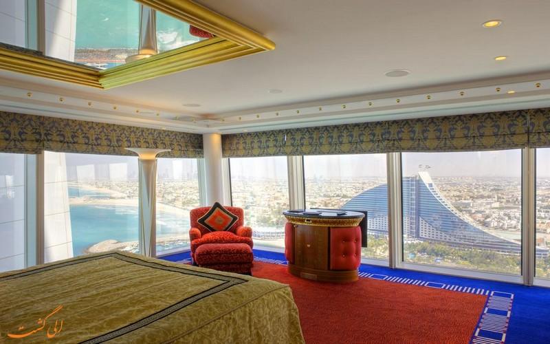 هتل 5 ستاره برج العرب دبی