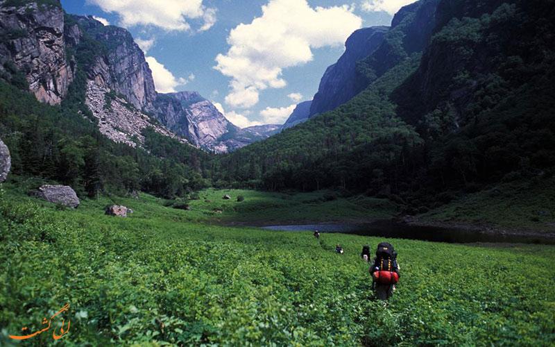 کوه کیتلالتپلت و ایزتاکیوهالت در مکزیک