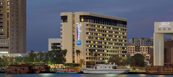 هتل رادیسون بلو دبی دیره کریک