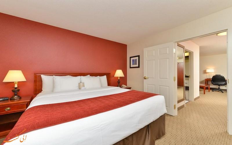 هتل 4 ستاره کانفورت سوت کلگری