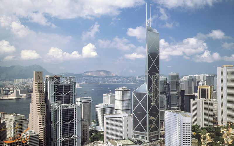 برج بانک چین هنگ کنگ، چین