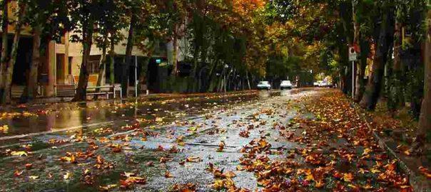 تهران گردی در پاییز