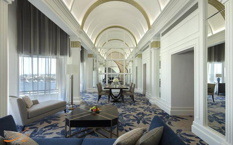 فاصله هتل تا جاذبه های دبی