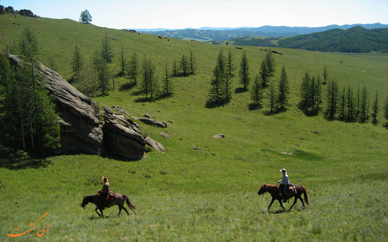 کوه کیوتن در مغولستان