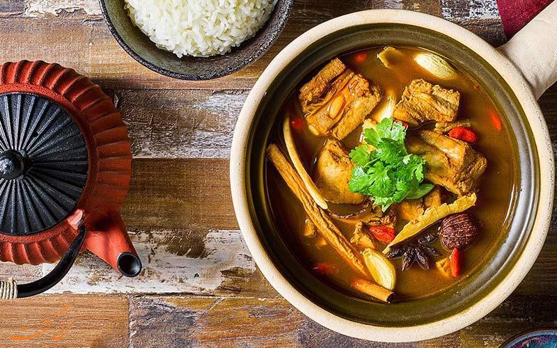 غذاهای معروف مالزی