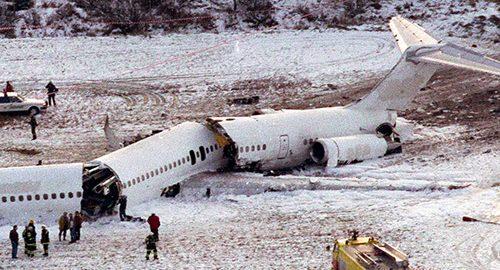 مرگبارترین سوانح هواپیمایی