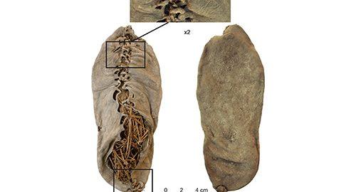 قدیمی ترین کفش چرمی