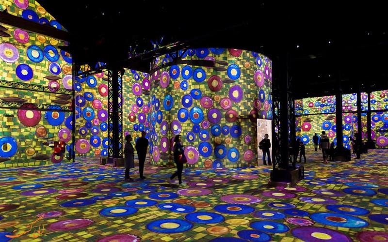 موزه هنر دیجیتال در پاریس